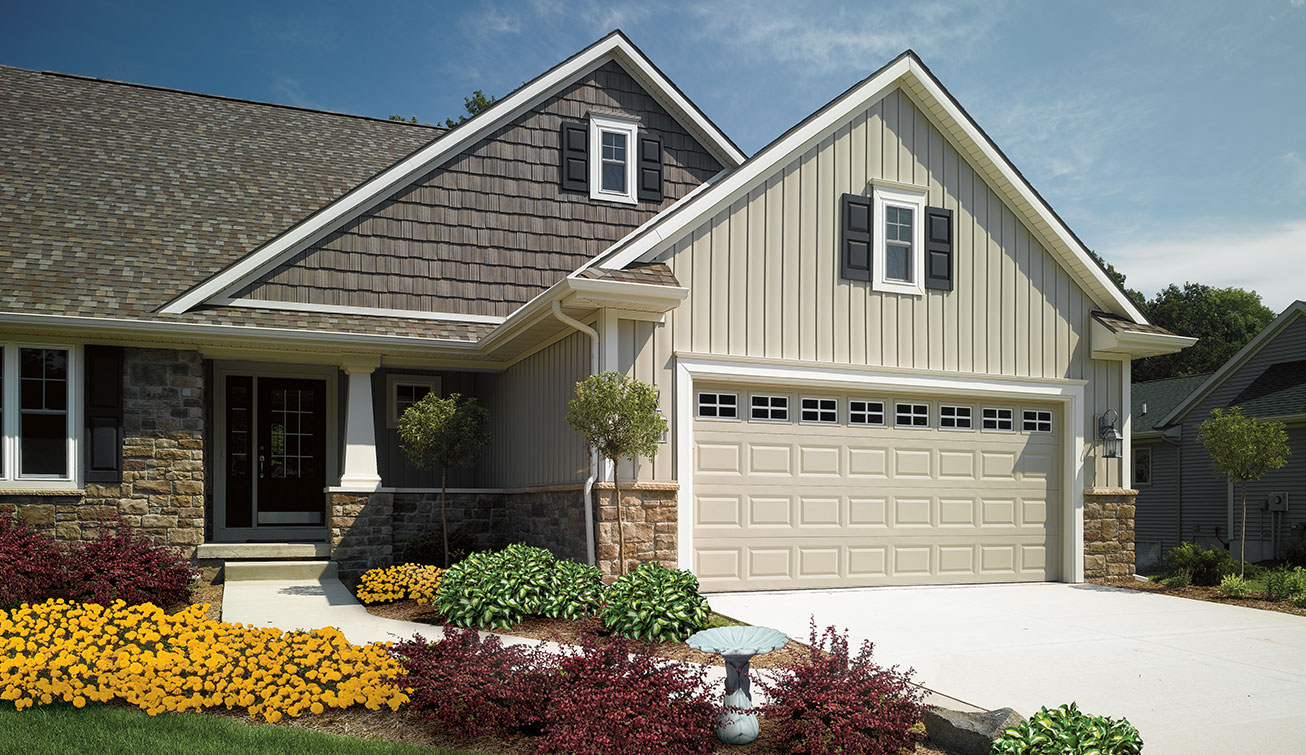 Vinyl siding options in stamford ct signature exteriors for Type of siding board