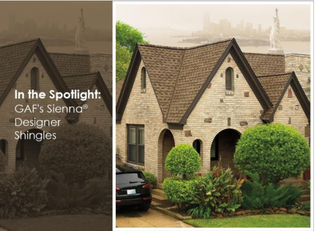 In the Spotlight: GAF's Sienna® Designer Shingles